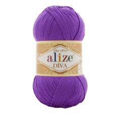 Пряжа Alize Diva, цвет № 325 (Бугенвиль)