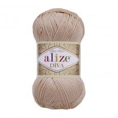 Пряжа Alize Diva, цвет № 382 (Пудра)