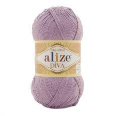 Пряжа Alize Diva, цвет № 505 (Пепельно сиреневый)