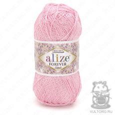 Пряжа Alize Forever Simli, цвет № 32 (Светло-розовый)