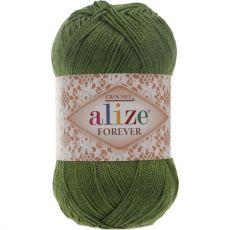 Пряжа Forever Ализе, цвет № 35 (Зеленый)