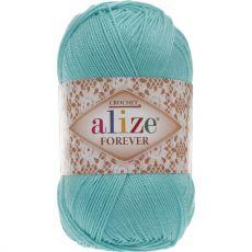 Пряжа Forever Ализе, цвет № 376 (Бирюзовый)