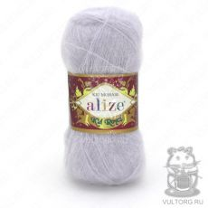 Пряжа Kid Royal 50 Ализе, цвет № 224 (Зимнее небо)