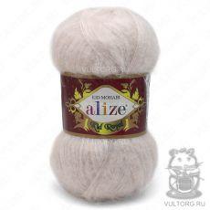 Пряжа Kid Royal 50 Ализе, цвет № 67 (Молочно-бежевый)