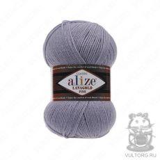 Пряжа Alize Lanagold Fine, цвет № 200 (Серый)