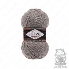 Пряжа Alize Lanagold Fine, цвет № 207 (Светло-коричневый)