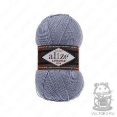 Пряжа Alize Lanagold Fine, цвет № 221 (Светлый джинс)