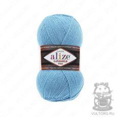 Пряжа Alize Lanagold Fine, цвет № 287 (Бирюзовый)