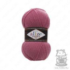 Пряжа Alize Lanagold Fine, цвет № 359 (Темная роза)