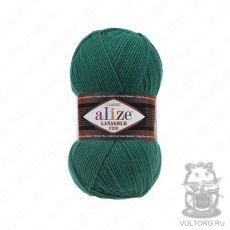 Пряжа Alize Lanagold Fine, цвет № 507 (Изумруд)