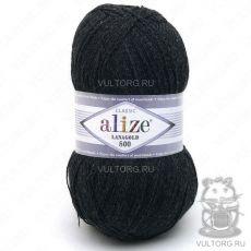 Пряжа Lanagold 800 Ализе, цвет № 151 (Темно-серый меланж)