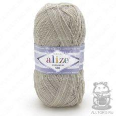 Пряжа Alize Lanagold 800, цвет № 152 (Бежевый меланж)