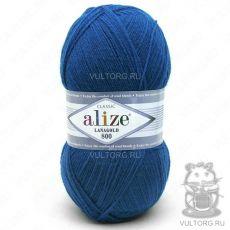 Пряжа Alize Lanagold 800, цвет № 155 (Темно-бирюзовый)
