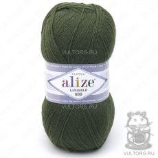 Пряжа Alize Lanagold 800, цвет № 29 (Хаки)