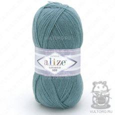 Пряжа Alize Lanagold 800, цвет № 386 (Лазурный)