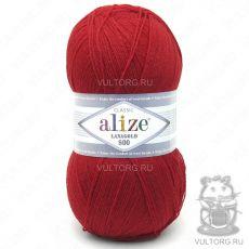 Пряжа Lanagold 800 Ализе, цвет № 56 (Красный)
