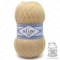 Пряжа Lanagold 800 Ализе, цвет № 680 (Медовый)