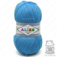 Пряжа Lanagold 800 Ализе, цвет № 245 (Морская волна)