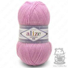 Пряжа Lanagold 800 Ализе, цвет № 98 (Розовый)