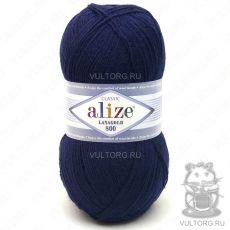 Пряжа Alize Lanagold 800, цвет № 58 (Темно-синий)