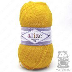 Пряжа Alize Lanagold 800, цвет № 216 (Жёлтый)