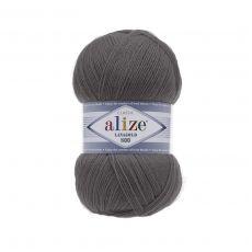 Пряжа Alize Lanagold 800, цвет № 348 (Темно-серый)