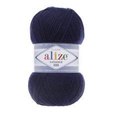 Пряжа Alize Lanagold 800, цвет № 590 (Чернильный)