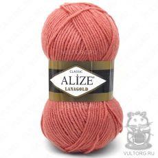 Пряжа Lanagold Ализе, цвет № 154 (Коралловый)