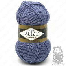 Пряжа Lanagold Ализе, цвет № 203 (Джинс меланж)