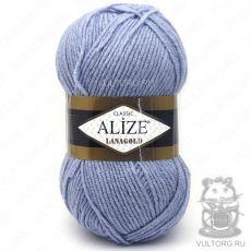 Пряжа Lanagold Ализе, цвет № 221 (Светлый джинс меланж)
