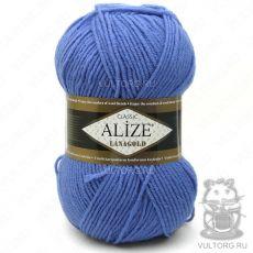 Пряжа Lanagold Ализе, цвет № 237 (Сапфир)