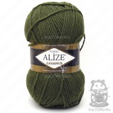 Пряжа Lanagold Ализе, цвет № 29 (Хаки)