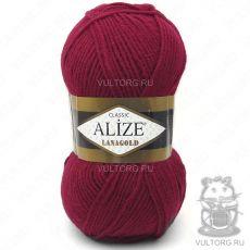 Пряжа Lanagold Ализе, цвет № 390 (Вишня)