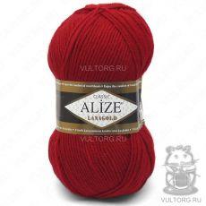 Пряжа Lanagold Ализе, цвет № 56 (Красный)
