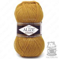 Пряжа Lanagold Ализе, цвет № 645 (Горчичный)