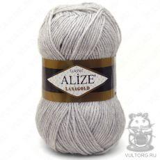 Пряжа Lanagold Ализе, цвет № 684 (Пепельный меланж)