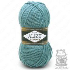 Пряжа Alize Lanagold, цвет № 386 (Лазурный)