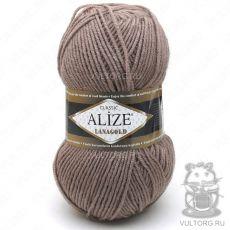 Пряжа Alize Lanagold, цвет № 584 (Кофе с молоком)