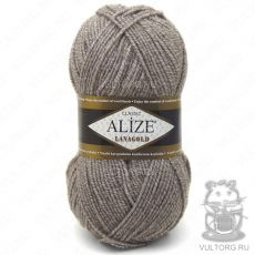 Пряжа Alize Lanagold, цвет № 650 (Бежевый меланж)