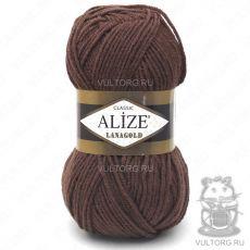 Пряжа Alize Lanagold, цвет № 583 (Корица меланж)