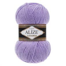 Пряжа Alize Lanagold, цвет № 166 (Лиловый)