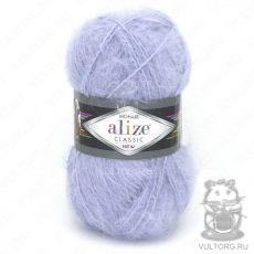 Пряжа Mohair Classic New Ализе, цвет № 51 (Светло-голубой)