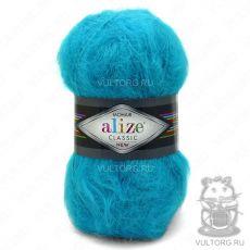 Пряжа Mohair Classic New Ализе, цвет № 16 (Бирюзовый)