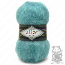 Пряжа Mohair Classic New Ализе, цвет № 164 (Лазурный)