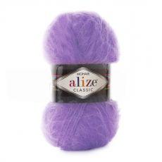 Пряжа Mohair Classic New Ализе, цвет № 206 (Виолет)
