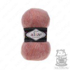 Пряжа Alize Mohair Classic New, цвет № 145 (Персиковый)