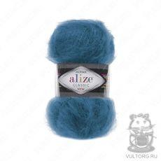 Пряжа Alize Mohair Classic New, цвет № 646 (Темно-бирюзовый)