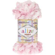 Пряжа Puffy Color Ализе, цвет № 5863