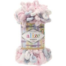 Пряжа Puffy Color Ализе, цвет № 5864