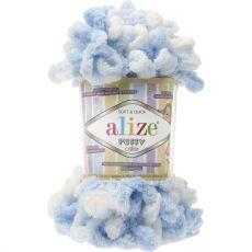 Пряжа Puffy Color Ализе, цвет № 5865